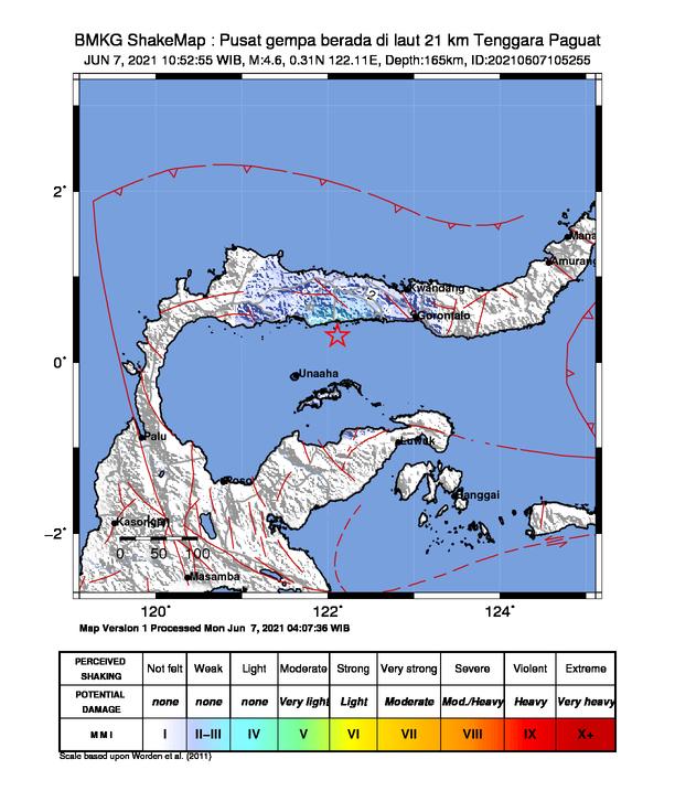 Gempa di Gorontalo